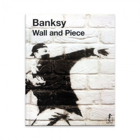 LIVRO BANKSY - WALL AND PIECE