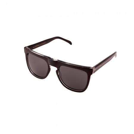Óculos de Sol Komono - Bennet Black Transparent