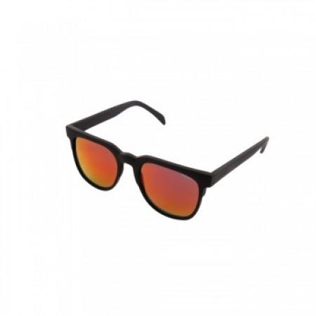 Óculos de Sol Komono - Riviera Black Rubber Red Mirror